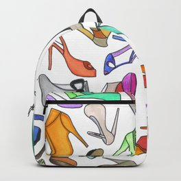 high heel Backpack