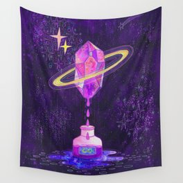 Cosmic ink Wall Tapestry
