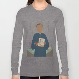 Oscar Romero of El Salvador Long Sleeve T-shirt