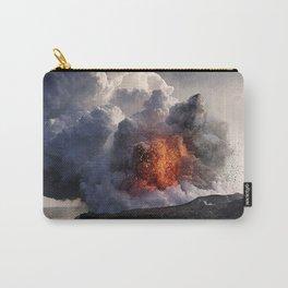 Kilauea Volcano at Kalapana 8 Carry-All Pouch