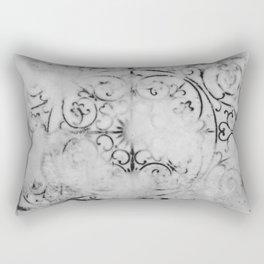 Metal under Snow Rectangular Pillow