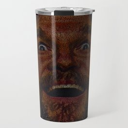 The Dude (Lebowski Screenplay print) Travel Mug
