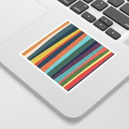 Mid-century zebra Sticker