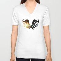 homestuck V-neck T-shirts featuring Hope by Darkerin Drachen