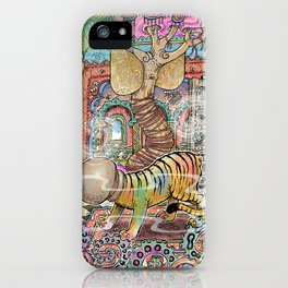 The Innocent Tiger iPhone Case