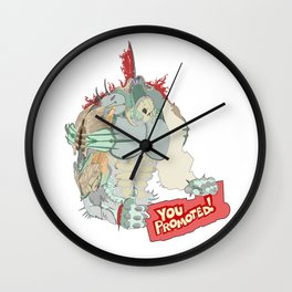 You Promoted Wall Clock