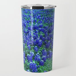 Field of Blue Travel Mug