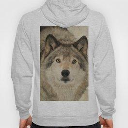 Timber Wolf Portrait Hoody