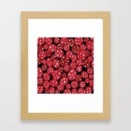 Salami Framed Art Print