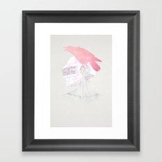Never Over Framed Art Print