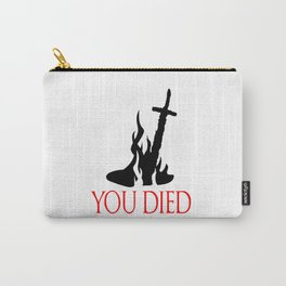 You Died, Dark Souls Edition Carry-All Pouch
