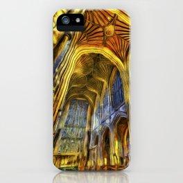 Bath Abbey Van Gogh iPhone Case