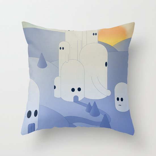 c i t t à v i s i b i l e Throw Pillow