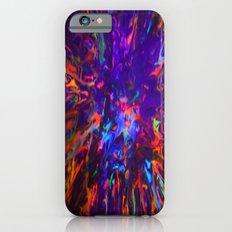Creamy Spill Black Light iPhone 6s Slim Case