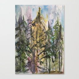 Sunday Valley Canvas Print