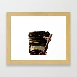 Little Weapon Framed Art Print