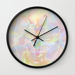 Be a Goddess Yourself Wall Clock