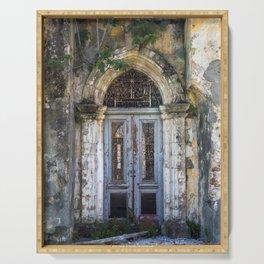 Derelict Doorway Serving Tray