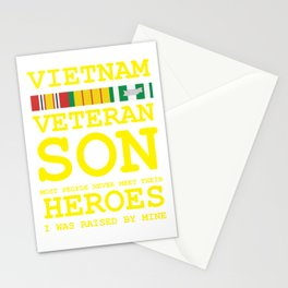 Vietnam Veteran Son Gift for Veteran's Day product Stationery Cards