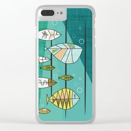 Back To School Clear iPhone Case
