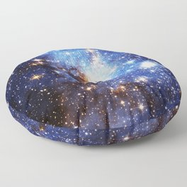 Blue Galaxy Floor Pillow