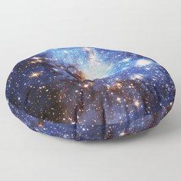 Blue Galaxy Floor Pillow