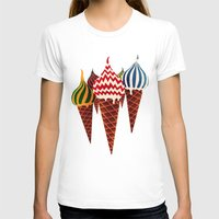 summer T-shirts featuring Summer in Moscow by Yetiland