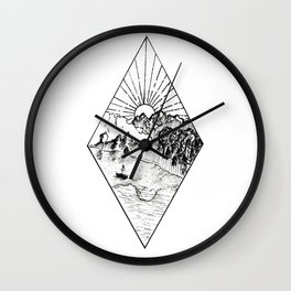 New Zealand's beauty *Te Anau Wall Clock