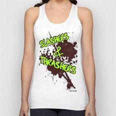 Slashers & Thrashers Unisex Tank Top