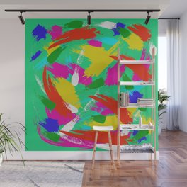 Green Emotions Wall Mural