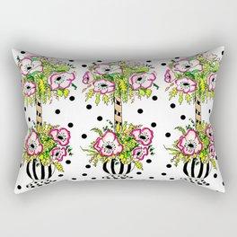 topiary garden Rectangular Pillow