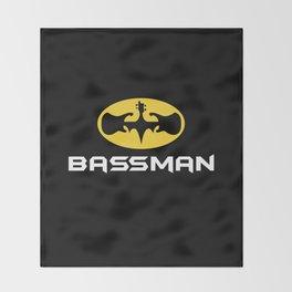 Bassman Throw Blanket
