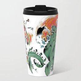 Godzilla vs Biollante a'la DANG Travel Mug