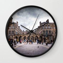 Royal Mile in Edinburgh, Scotland Wall Clock