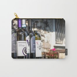 Italian Wine Carry-All Pouch