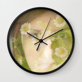 Spring that never ends Wall Clock