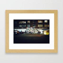 manhattan vibes (4) Framed Art Print
