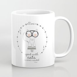 Hipster Kitty Coffee Mug