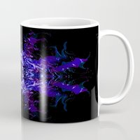 swimming Mugs featuring Swimming... by Cherie DeBevoise