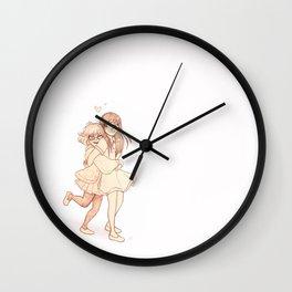 Mirai and Mitsuki Wall Clock