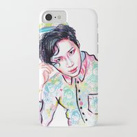 shinee iPhone & iPod Cases featuring SHINee Taemin Colorful by sophillustration
