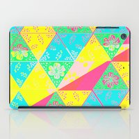 transparent iPad Cases featuring Transparent Triangle by Lillian Cassidy