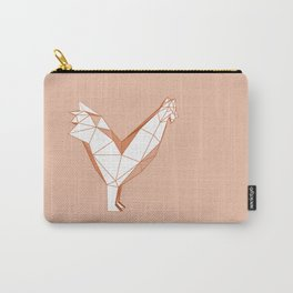 geometric rooster Carry-All Pouch