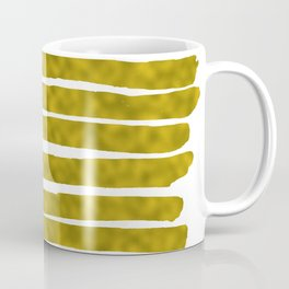 Gold Lines Coffee Mug