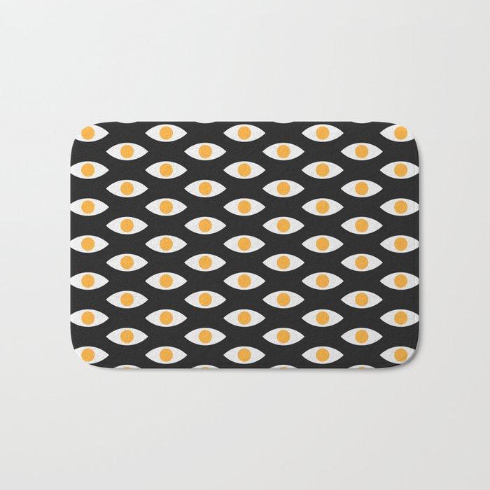 eye pattern Bath Mat