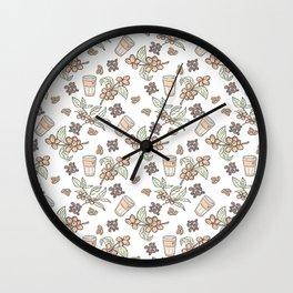 Coffee Coffee Wall Clock