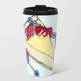 Cheesecake with Toppings Travel Mug