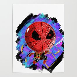 Iron Spider - INSTANT KILL Poster
