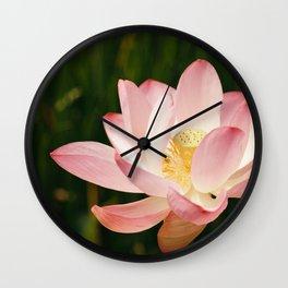 Radiant Lotus Wall Clock
