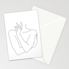 Crossed arms illustration -Kady Stationery Cards